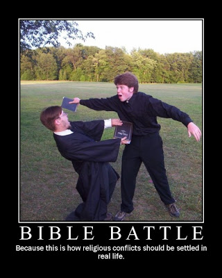 bible battle eatliver