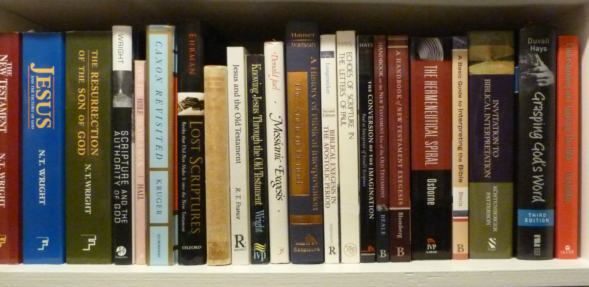 A Library Online--Or At Least Onshelves | Dwight Gingrich Online